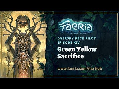 Faeria - Oversky Deck Pilot - Green Yellow Sacrifice
