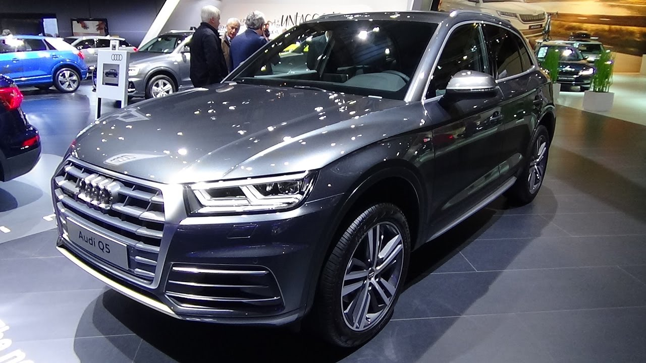 2017 audi q5 s line exterior and interior auto show brussels 2017 youtube. Black Bedroom Furniture Sets. Home Design Ideas