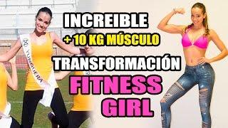 INCREIBLE TRANSFORMACION FITNESS en 2 Años || FITNESS GIRL MOTIVACIÓN