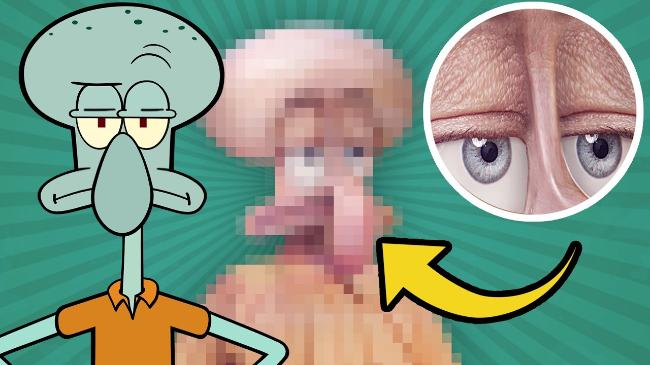 Squidward Tentacles In Real Life - Human Version ...