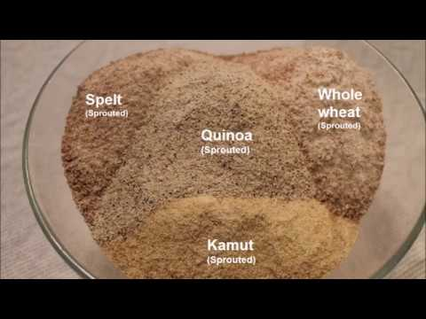 All about sprouted flour!