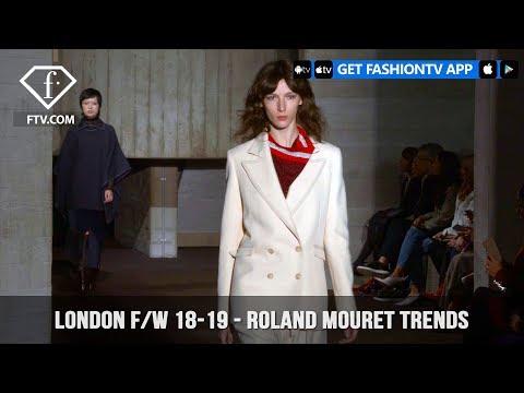 Roland Mouret Trends London Fashion Week Fall/Winter 2018-19 | FashionTV | FTV