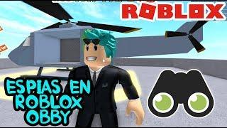 Espia en Roblox | SPY TRAINING OBBY | Roblox Obby Capitulo 4