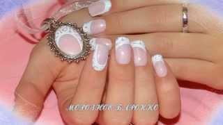 Зимний дизайн ногтей гель лаком