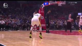 Steph Curry rolls ankle in game 6 vs Clippers