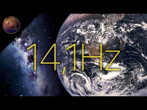 Feel Oneness with the Universe! Earth's Vibrational Frequency 14,1Hz  [SCHUMANN RESONANCE]