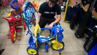 Детский трёхколёсный велосипед jaguar ms-737(Видео обзор к детскому трёхколёсному велосипеду jaguar ms-737 http://sportseason.ru/store/ms-0737., 2012-01-27T02:42:44.000Z)