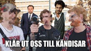 SMINKAR OSS TILL VÄRLDSKÄNDISAR.