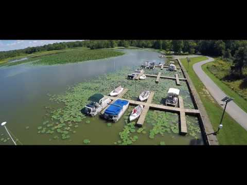 Cowan Lake In Wilmington, OH 2016 Drone Footage