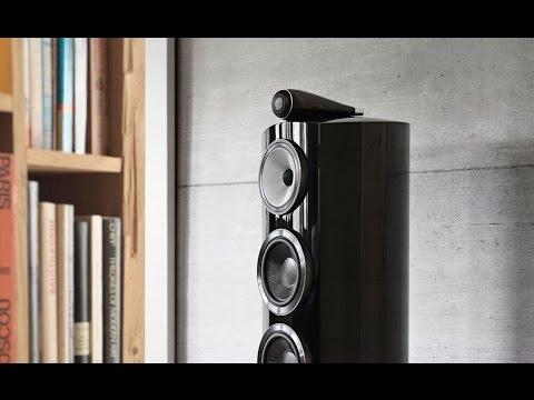 Bowers & Wilkins (B&W) new 800 series Diamond loud speakers