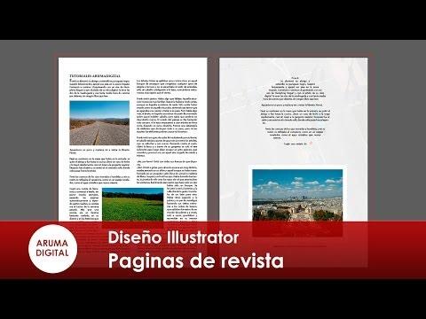 Como hacer varias paginas en illustrator