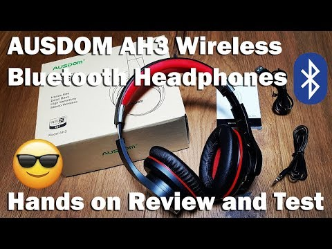 Best Headphones You've Never Heard Of...The amazing AUSDOM headphones!