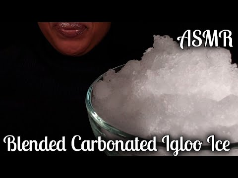 asmr-blended-carbonated-igloo-ice|ice-eating-#얼음|no-talking