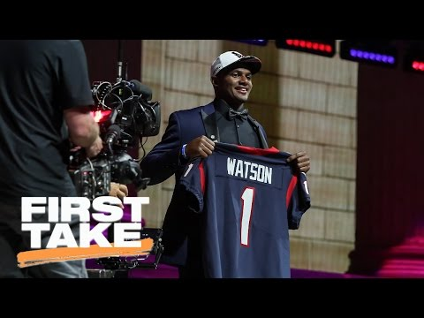 Deshaun Watson Has Huge Opportunity With Houston Texans | First Take | May 5, 2017