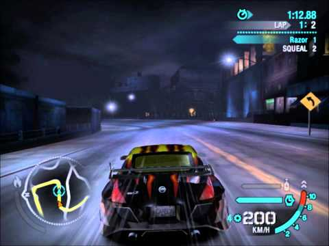 Nfs Carbon Nissan Z Vs Ford Gt Hd