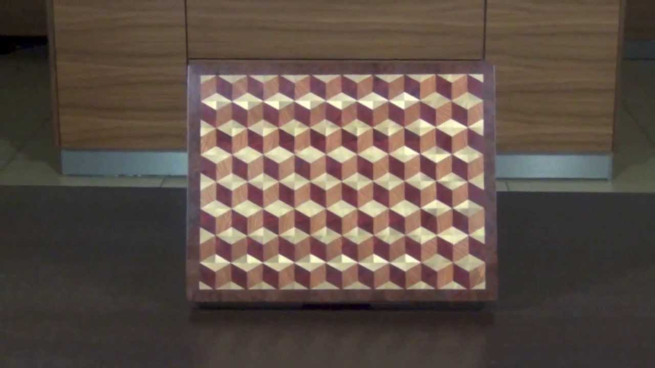 3d End Grain Cutting Boards Youtube
