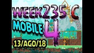 Angry Birds Friends Tournament Level 4 Week 325-C  MOBILE Highscore POWER-UP walkthrough
