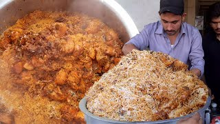 MALANG BIRYANI | Chicken Degi Biryani | Street Food of Karachi Pakistan