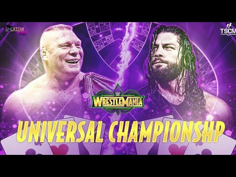 WWE Roman Reigns vs Brock Lesnar 34 wrestlemania 2018 April [[[[[[[[[[[WW2K18 PS4 Pro ]]]]]]]]]]] thumbnail