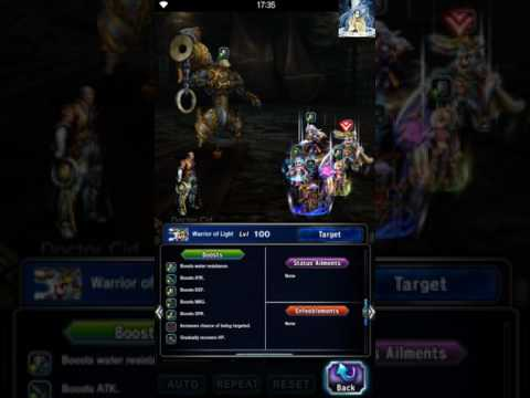 FFBE - The Ambitious Engineer and the Darkening Cloud - All Mission