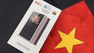 Unbox Máy nghe nhạc FiiO X1 GEN 2 hoàn toàn mới, Bluetooth, xoay cảm ứng, Hi-Res, Chip DAC gấp đôi