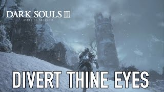 Dark Souls III Ashes of Ariandel - PS4/PC/XB1 - Divert thine eyes (Gameplay)