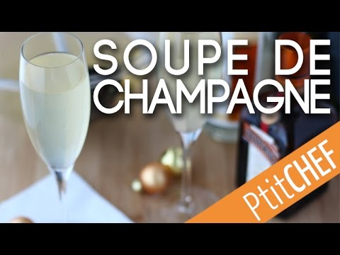 recette de soupe de champagne youtube. Black Bedroom Furniture Sets. Home Design Ideas