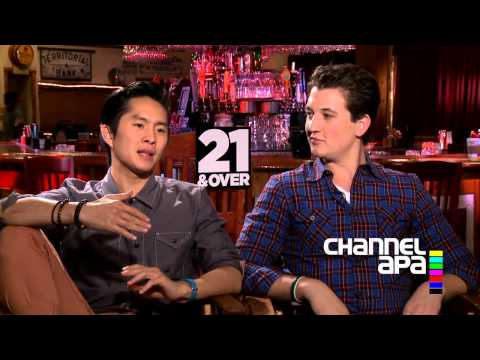 21 and Over interview with Justin Chon (Jeff Chang)