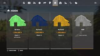 Easy Money Hack for PS4 and Xbox One | Farming Simulator 19
