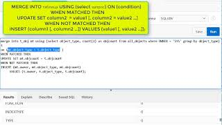 Урок 30. SQL advanced. Команда Merge ORACLE SQL