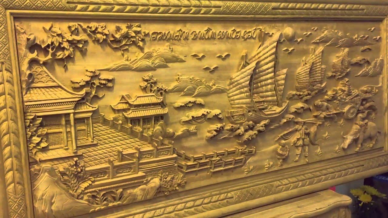 Tranh Đồng Qu 234 Gỗ Hương Tranh Thuận Buồm Xu 244 I Gi 243 Gỗ Gụ