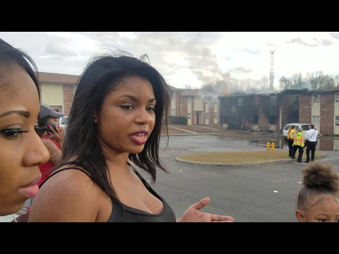 Families displaced by apartment fire - Orangeburg, SC