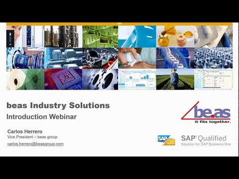 BEAS - Industry Solutions for Manufacturing | Vision33