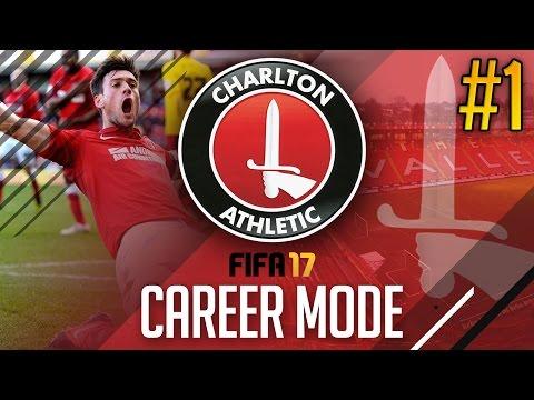 FIFA 17 CAREER MODE | Charlton Athletic - THE CHARLTON JOURNEY BEGINS! #1 | ADAMvsFIFA