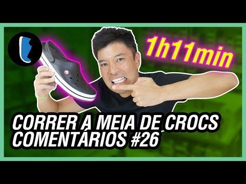 CORRENDO A MEIA MARATONA DE CROCS | COMENTÁRIOS #26