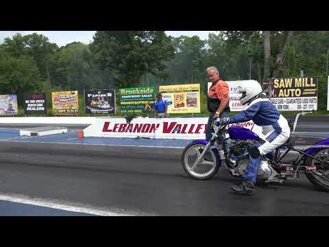Sean Rocco run 4 1972 IronHead Lebanon Valley Speedway 8 25 2018