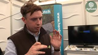 AgriLand's Niall Claffey speaks to Fabien Payaud of Herdwatch...at 'Ploughing 2019'