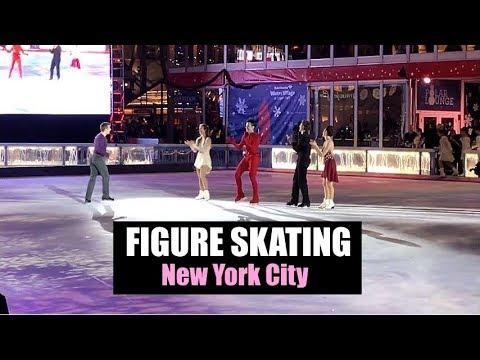 2017 Bryant Park Christmas Tree Lighting & Skate-tacular (NYC)