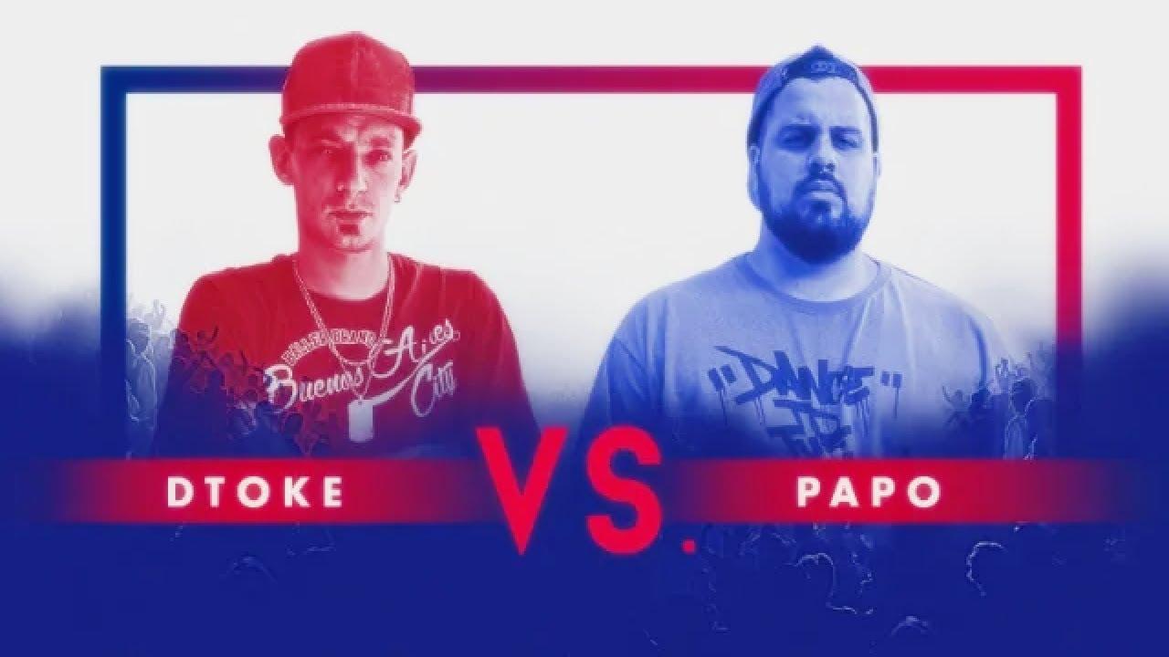 DTOKE vs PAPO - Red Bull LOLLAPALOOZA Exhibicion  Argentina 2019!
