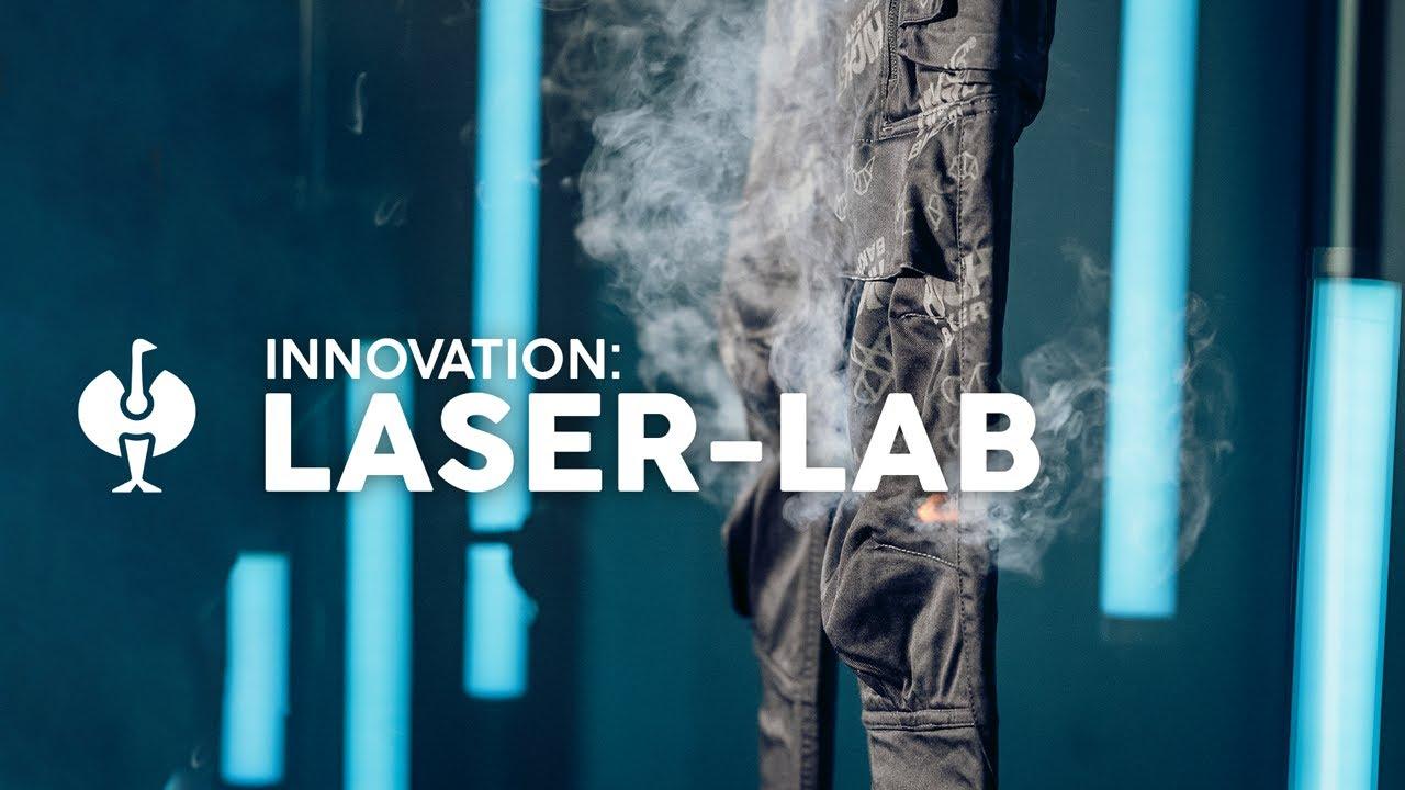 So Laser kann Workwear sein! ⚡