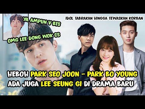 PARK SEO JOON - PARK BO YOUNG MAIN BARENG 😍 DRAMA KOREA TERBARU LEE SEUNG GI 😍 DUH HEBOH V BTS