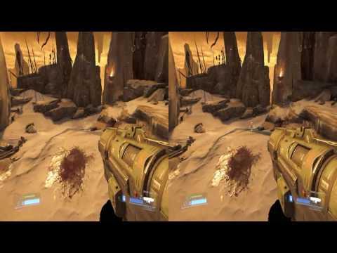 Doom 2016 - stereoscopic 3D - Nvidia 3D Vision