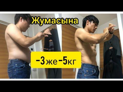 ПРОТОКОЛ Табата/ТАБАТА методунун жардамы менен арыктоо, жумасына 3же 5кг арыктоо