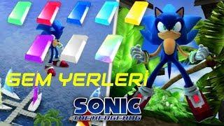 Sonic The Hedgehog 2006 Gem Yerleri Türkçe