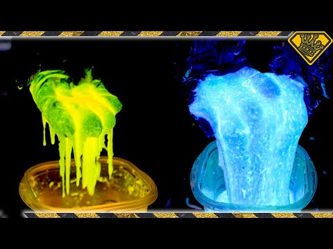 Glow Oobleck Monster Mosh Pit