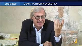 Vittorio Sgarbi contro Giuseppe Conte:
