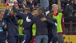 GOOOL! CFR Cluj – FCSB 3-0. Deac a plasat mingea cu eleganță