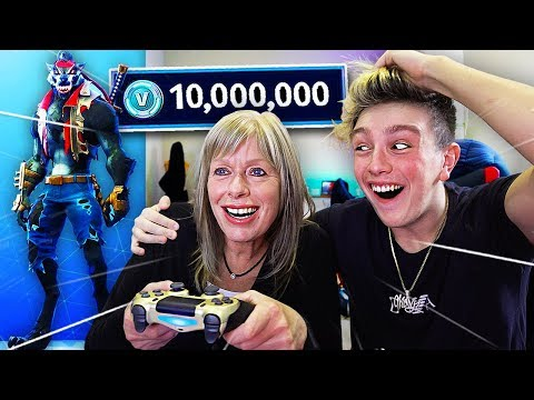 SURPRISING MORGZ WITH *NEW* $500 FORTNITE SKIN!! (Season 6 DIRE Skin)