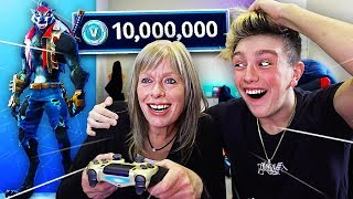 SURPRISING MORGZ AVEC 'NEW' 500 $ FORTNITE SKIN!! (Saison 6 DIRE Skin)