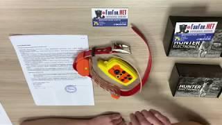 Радиоошейник для охотничьих собак HUNTER. Процесс синхронизации пульта и ресивера